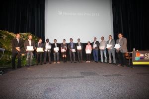 photo de tous les laureats