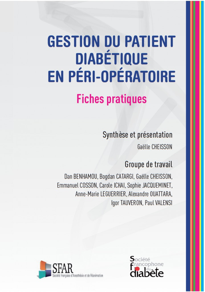 patient diabétique SFAR