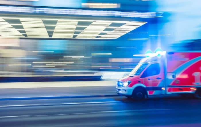 Bannière ambulance