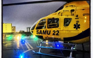 Hélicoptère SAMU